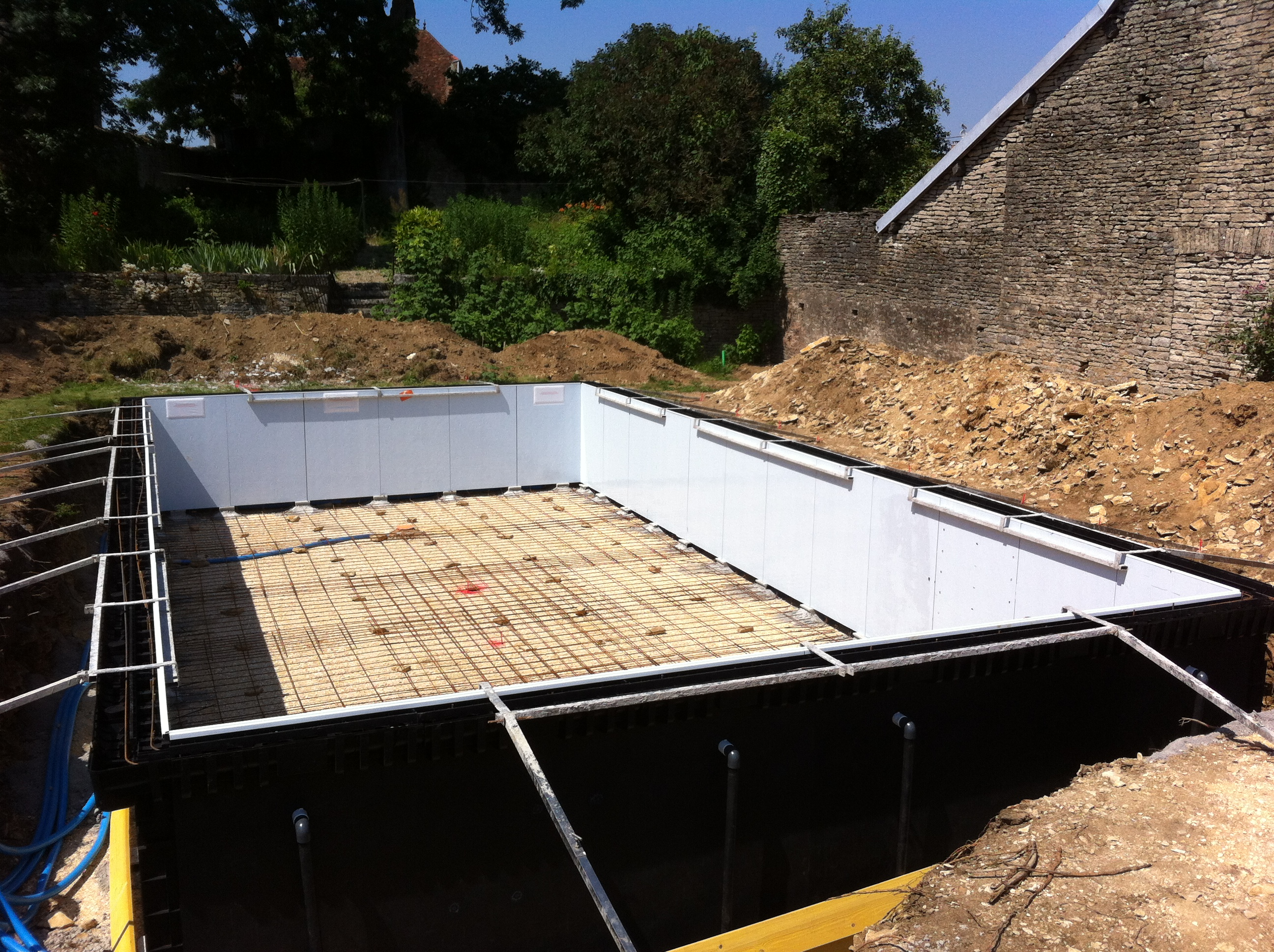 construction de piscine sur mesure annecy construction