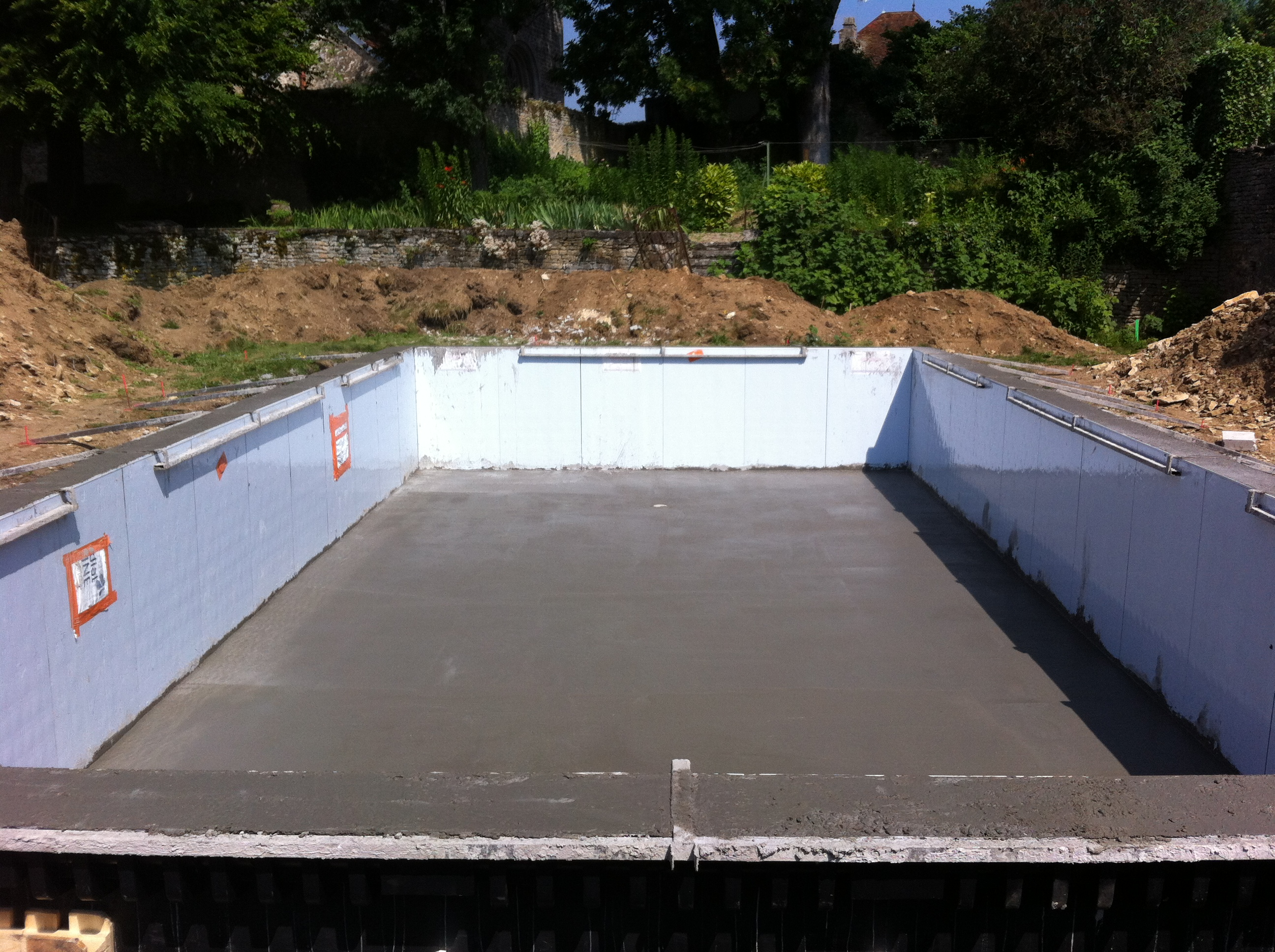 Construction piscine interieure construction et int for Construction piscine