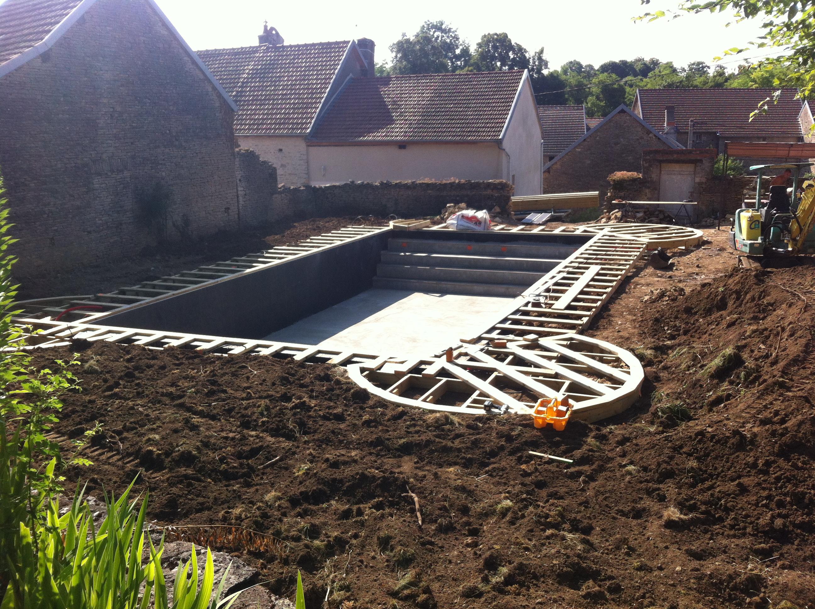 Construction de piscine sur mesure annecy construction for Piscine aix les bains