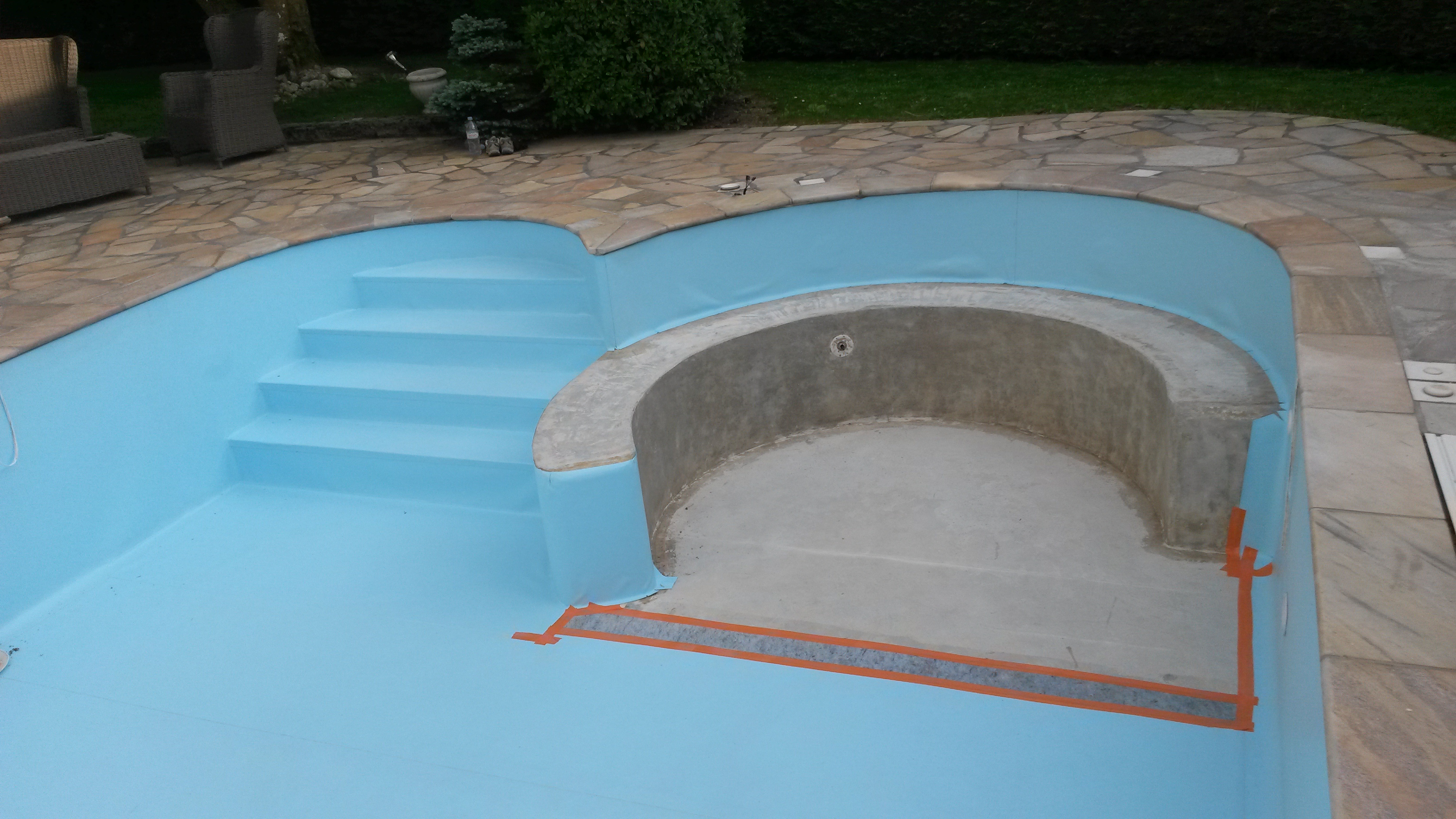 luxe liner pour piscine xwater piscine. Black Bedroom Furniture Sets. Home Design Ideas