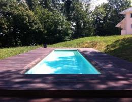 piscine exterieure aix les bains