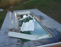 Renovation de piscine aix les bains - AVANT 2