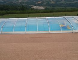 pose de volet roulant piscine annecy
